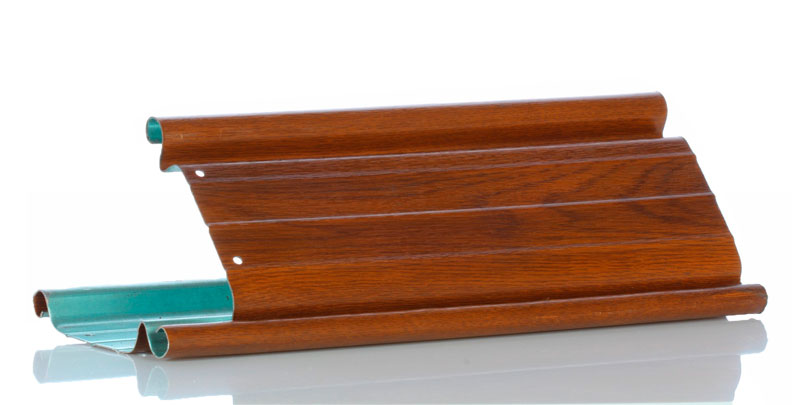 Celicna rolo vrata - imitacija drveta